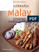 Authentic Malay Cooking - yudhacookbook.com