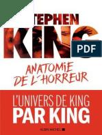 Stephen King - Anatomie de l'Horreur