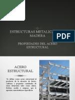 Propiedades Del Acero Estructural
