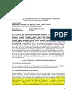Sentencia Constitucional CP 0084-2017_EXP 20960  AIA