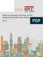 What Lies Beneath - Nonprofit Diversity in New York City