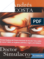 Doctor Simulacro - Andres Acosta