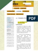 4.1. Primera Etapa - Petroleo