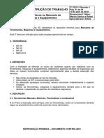 IT SSO 01 - Gestao de Riscos No Manuseio de Ferramentas, Maquinas e Equipamentos r1