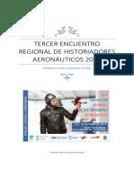 Tercer Encuentro Regional de Historiadores Aeronáuticos 2018
