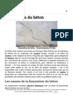 Fissuration Du Béton - GuideBeton.com