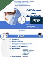 CAT Dyskaliémie