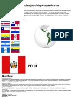 Las Lenguas Hispanoamericanas