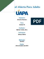 Universidad Abierta Para Adulto (Tarea 7)