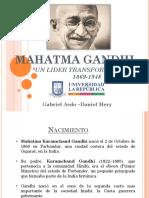 Trabajo Mahatma Gandhi Completo 2018