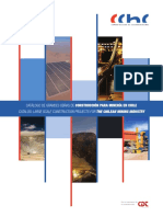 Catalogo Grandes Obras Mineras - Catalog Large Scale Projects for Chilean Mining