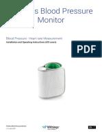 Wireless Blood Pressure Monitor User Guide en - IOS