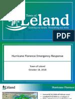 Hurricane Florence Recap Presentation