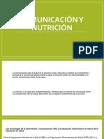 Comunicación y nutrición