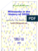 Milestones in the History of OFDM.