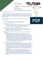Bulletin Safety and Health Topics Ammonia Refrigeration
