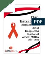 2007 Plan Estratégico Multisectorial de Respuesta Al VIH SIDA