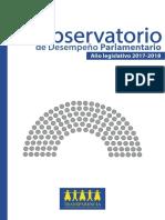 Observatorio de Desempeño Parlamentario 2018