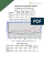Entegra - Quarterly Performance Report