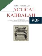 Ambelain Robert Practical Kabbalah Vol1