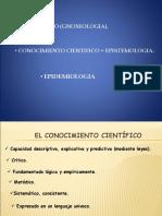 Epistemologia y Epidemiologia