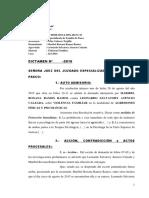 Caso 323-2016, Dictamen Violencia Física y Psicologica