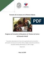 MANUAL PARA EL FOMENTO DE LA LECTURA EN LA PRIMERA INFANCIA CHILENA