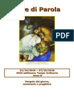 Sete di Parola - XXIX settimana T.O. - B.doc