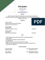 zelda resume2018