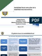La Politica Fiscal Colombiana