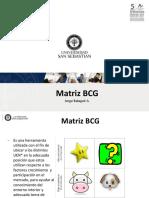 B a Clase Matriz BCG