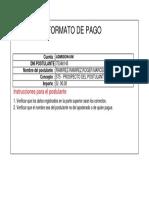 RECIBO de PAGO Prospecto de Admisión