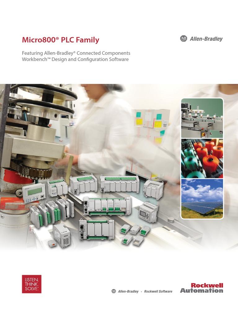 Rockwel Micro 830 pdf | Programmable Logic Controller