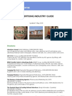 Advertising Industry Guide