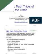 VHDL Math Tricks.pdf