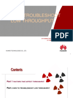 How to Troubleshoot Low Throughput