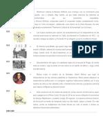 Cronologia Cultural Siglo XIX