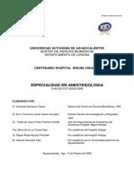 Especialidad Anestesiologia
