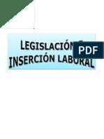 Legislación e Inserción Laboral