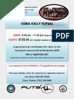 CORA KELLY FUTSAL - 2019