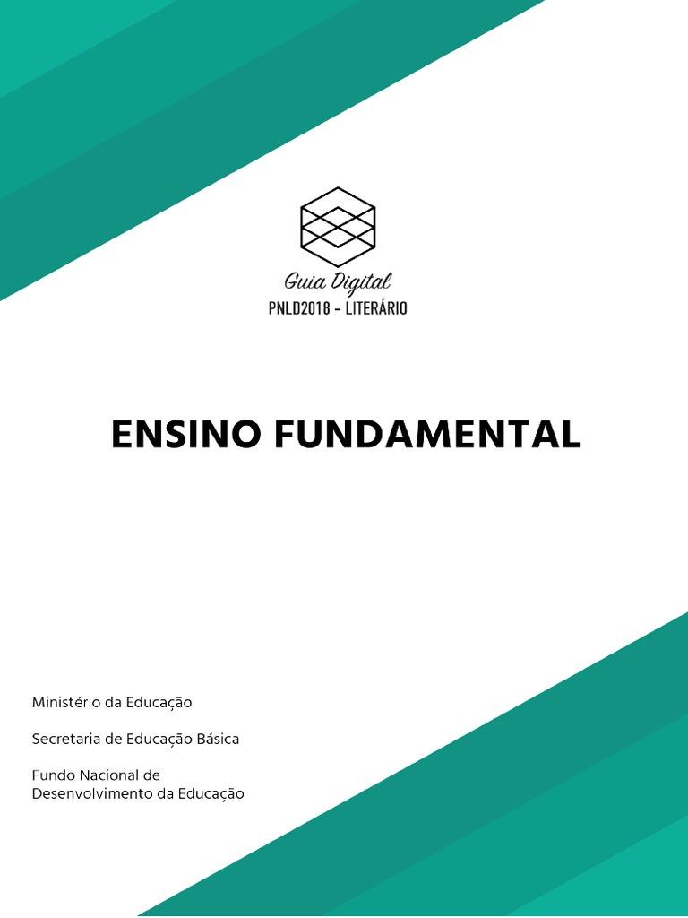 4924576cd Guia PNLD 2018-Literario Ensino Fundamental