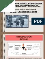 Las Migraciones Fenomeno Social