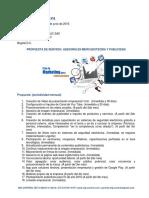 Propuesta Comercial Asesoría Empresarial en Mercadotecnia 070616