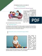 Interacción Familiar, Escolar y Social en El Desarrollo Integral Infantil.