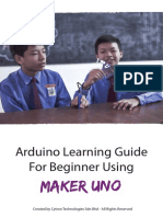 Arduino Learning Guide for Beginner Using Maker UNO