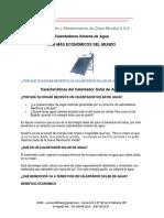 C. S. Ajover Caracteristicas Tecnicas