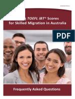 TOEFL Faq Skilled Migration Hp Ac Ada