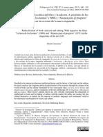 Adrián Calentano - Radicalización de la crítica del libro y la edición A propósito de los films...en las revistas de la nueva izquierda.pdf