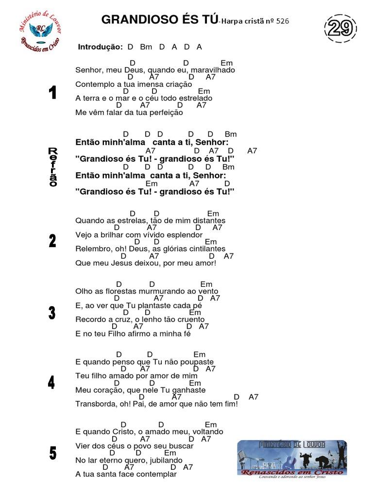 29-GRANDIOSO ÉS TÚ-Harpa Cristã 526.docx