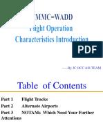 Flight AIS Brief-VMMC=WADD